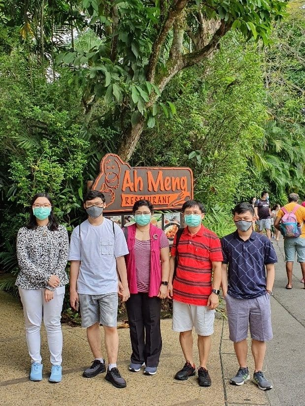 Annual Family Gathering at Singapore Zoological Gardens