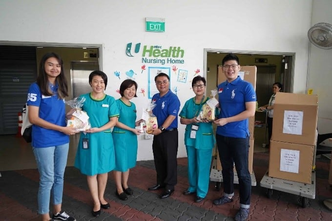 SMOU Care Pack Delivery to NTUC Health on 20 Mar 2020