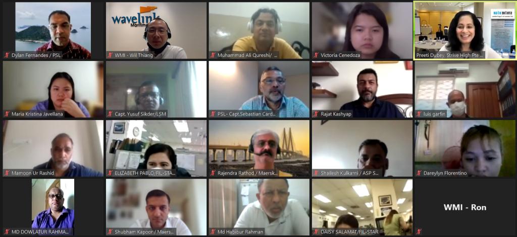 Shipboard Mental Health Workeshop Participants
