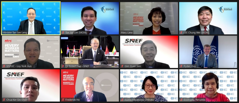 Virtual Meeting with ILO DG