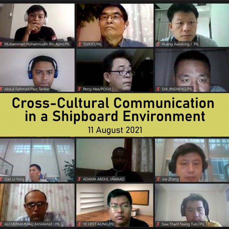 Cross-Culture Communication in a Shipboard Environment